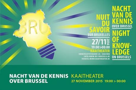 Nacht van de Kennis over Brussel 2015