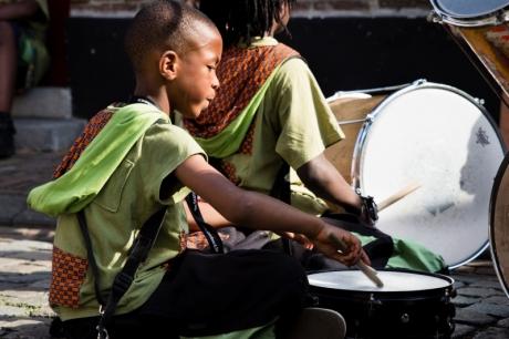 Kunstendag voor Kinderen: Krakebs & pandeiro's (9-12 jaar)