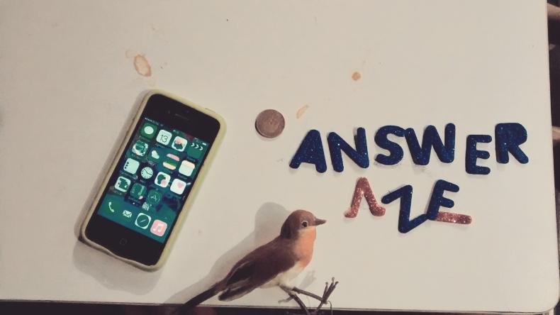 Answer me (Masterproef spel)