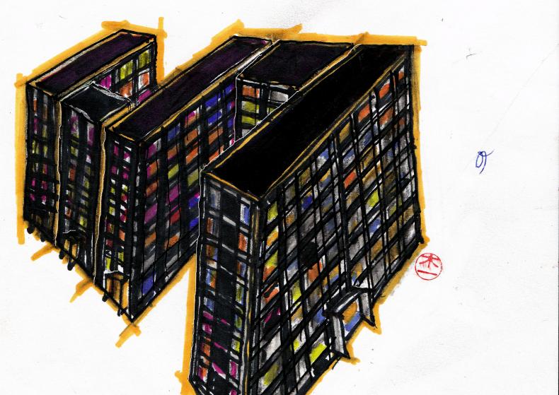 Melancholie aan de vijf blokken (waarom revolteren ze niet?)