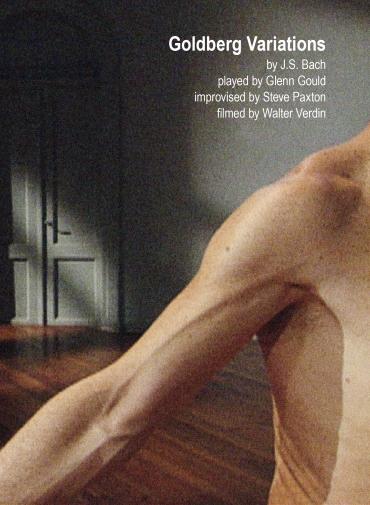 Goldberg Variations 1-15 & 16-30 (DVD) by Steve Paxton & Walter Verdin